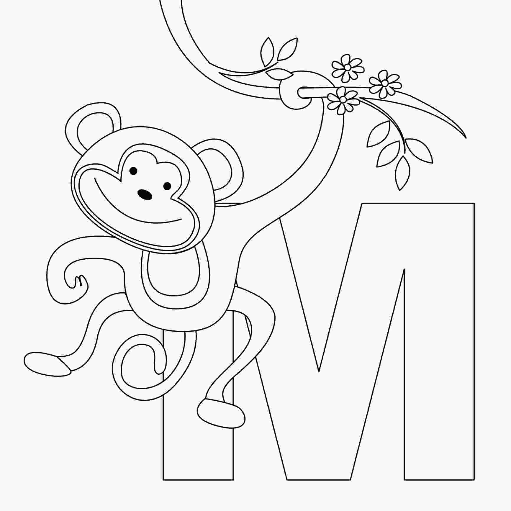 coloring pages monkey free printable monkey coloring pages for kids