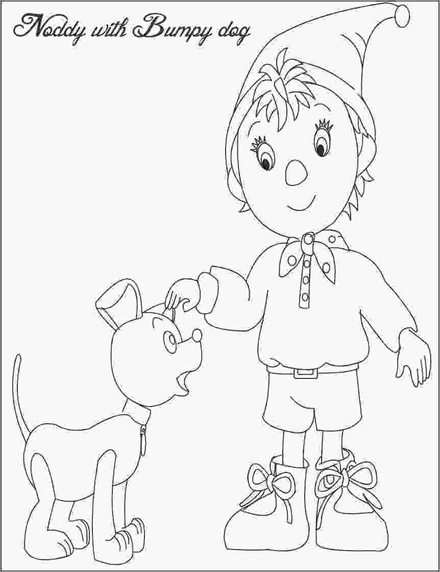 coloring pages noddy coloring pages download and print for free