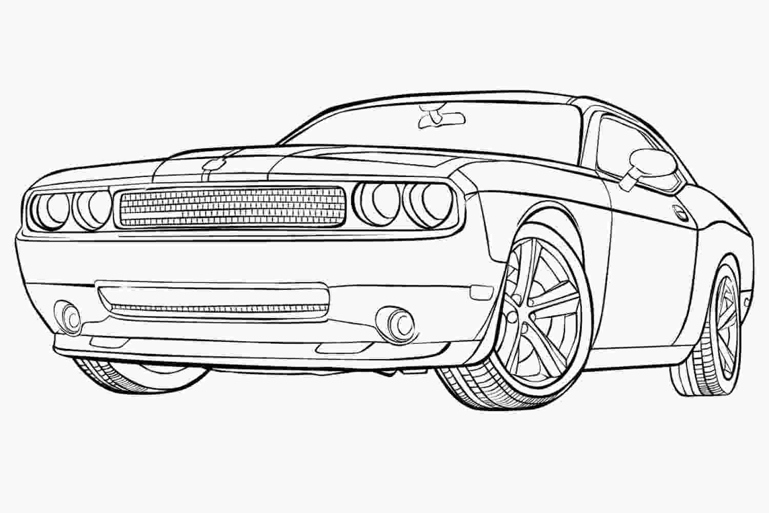 coloring pages of muscle cars muscle car coloring pages to download and print for free