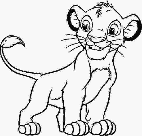 coloring pages of simba 24 best images about lion king coloring pages on pinterest 1