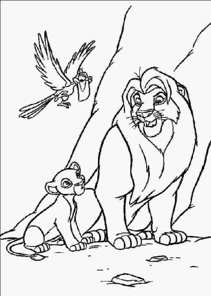 coloring pages of simba free printable simba coloring pages for kids 2