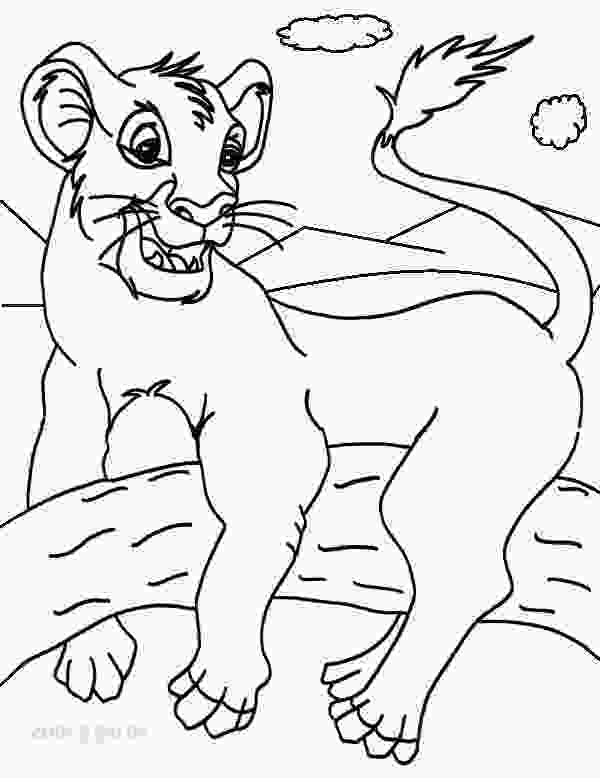 coloring pages of simba printable simba coloring pages for kids cool2bkids