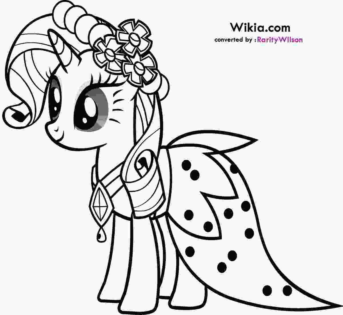 coloring pages pony my little pony rarity coloring pages team colors