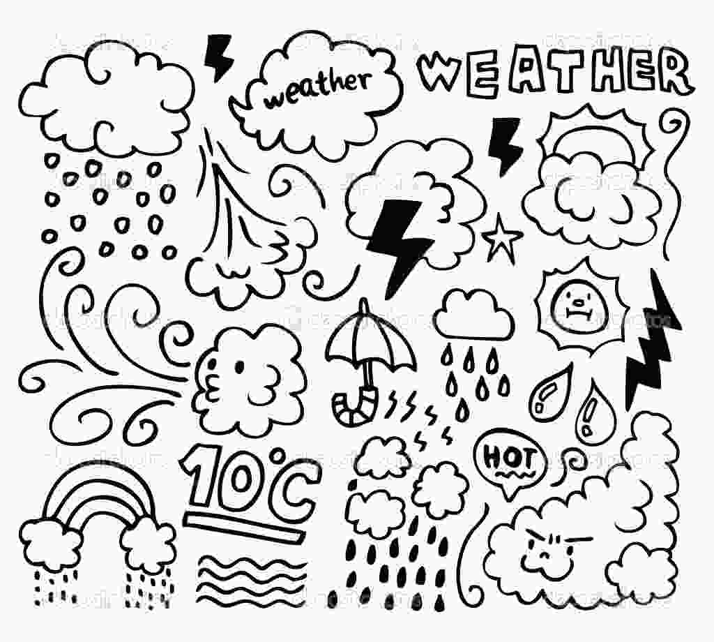 coloring seasons weather coloring pages to download and print for free