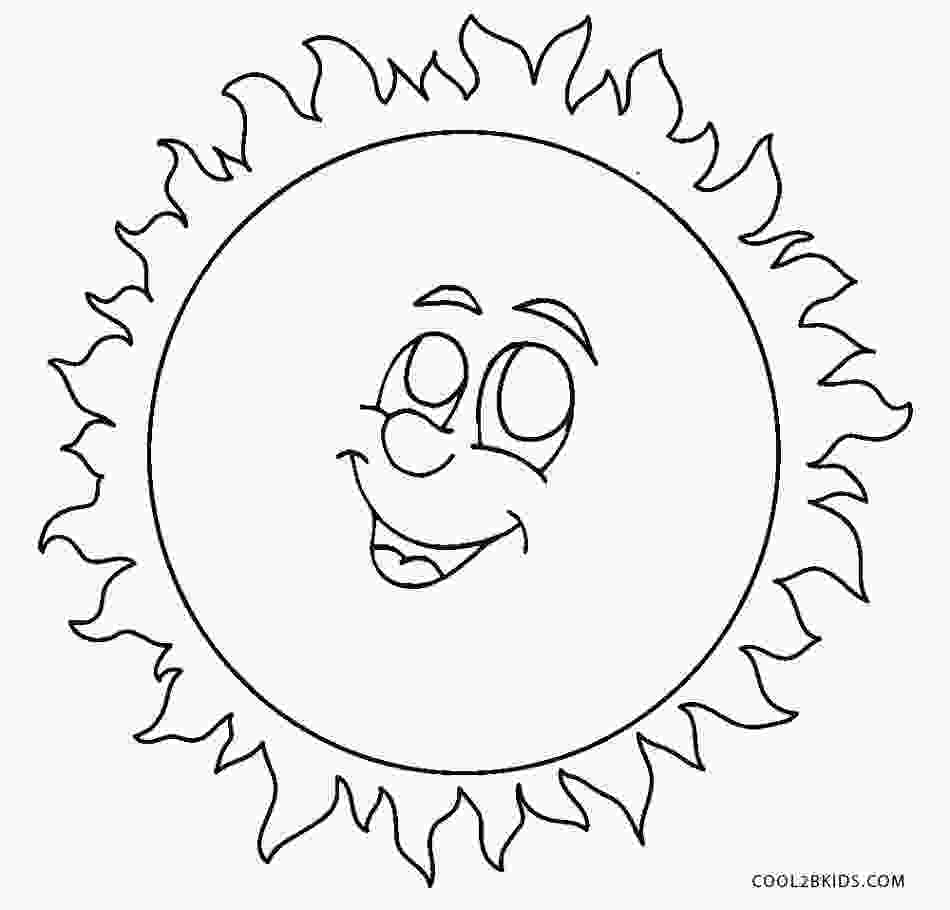 coloring sun template free printable sun coloring pages for kids cool2bkids