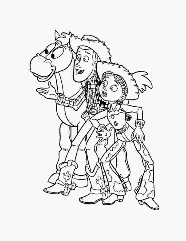 coloring toy story free printable toy story coloring pages for kids