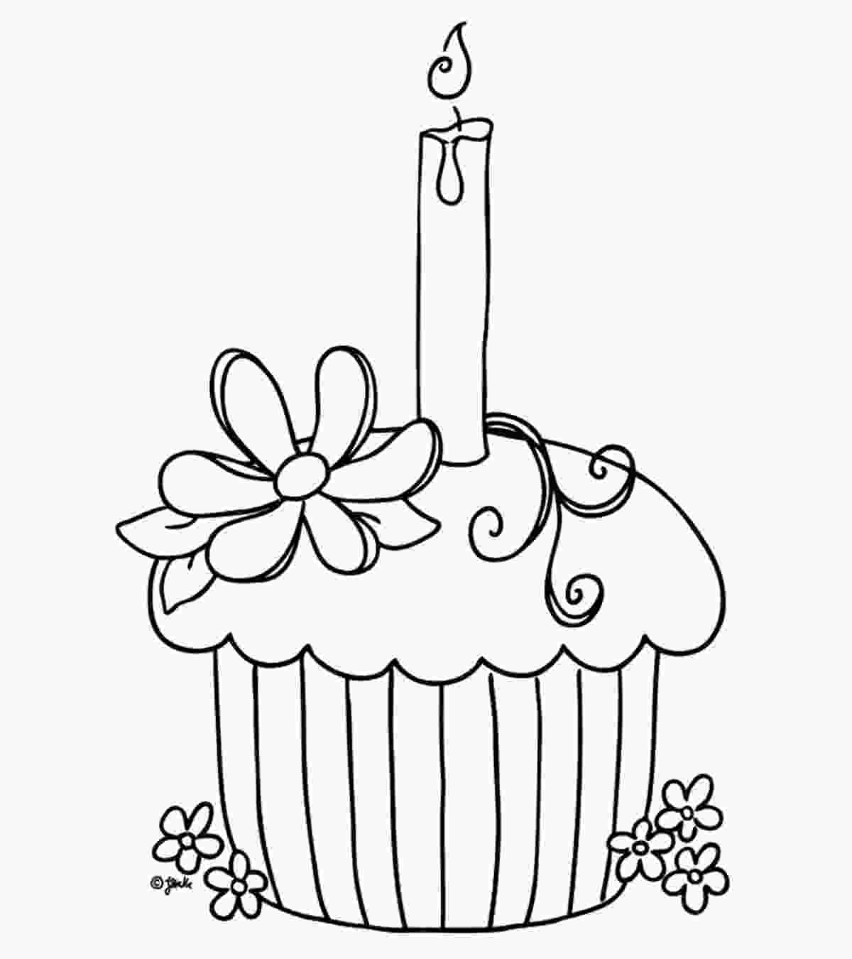 cupcake coloring pages snacks coloring pages momjunction