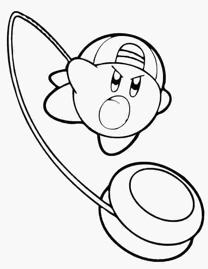 cute kirby coloring pages free printable kirby coloring pages for kids
