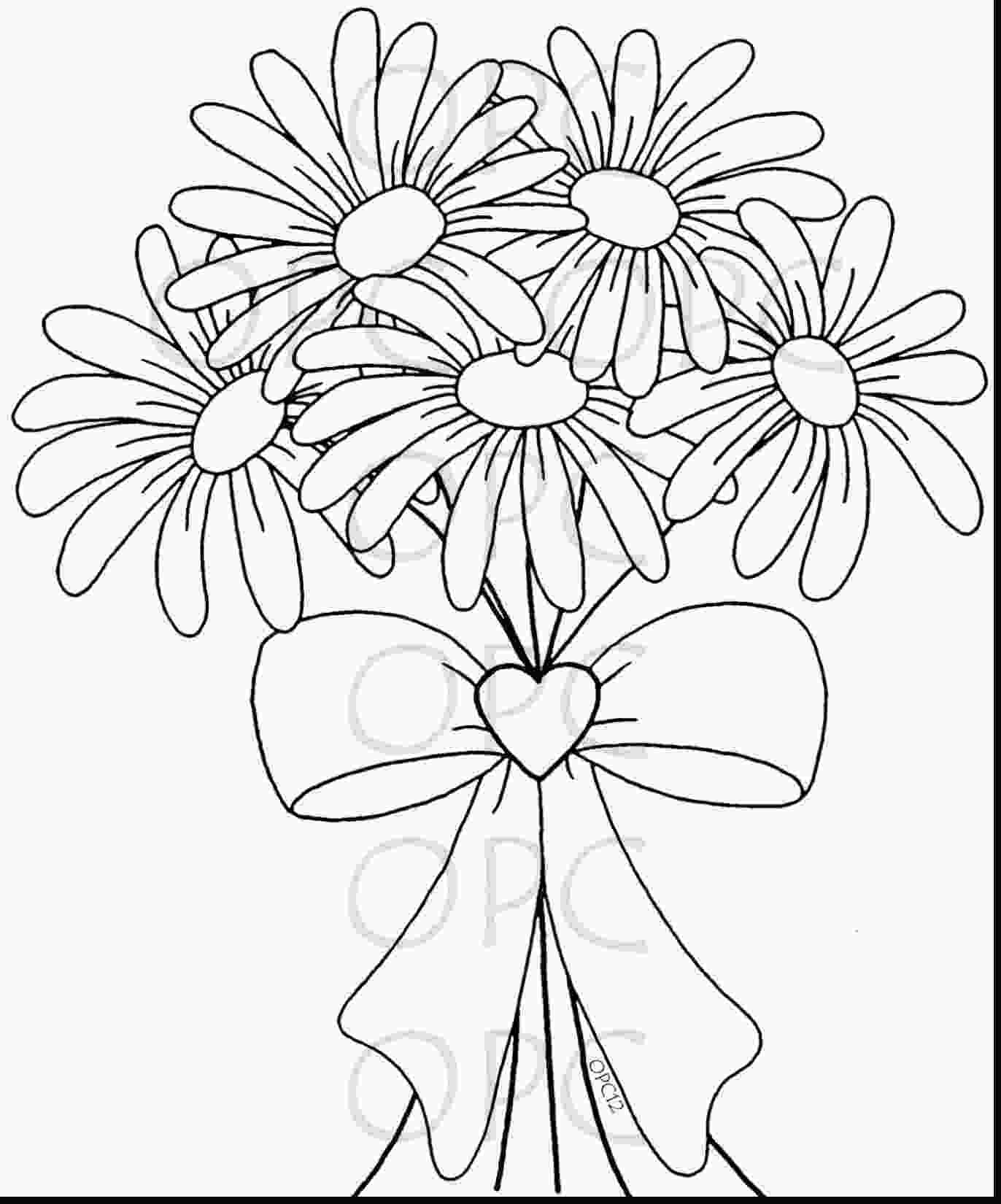 daisy coloring pages daisy flower coloring pages at getcoloringscom free