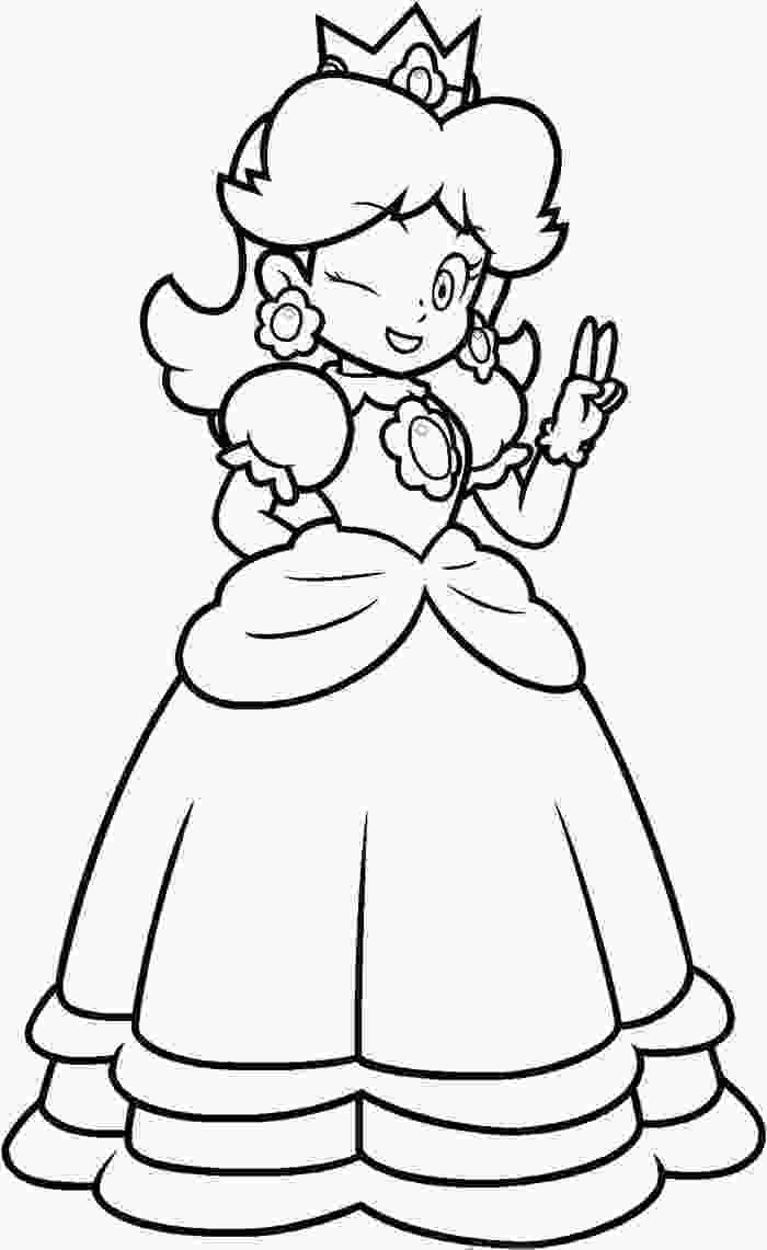 daisy coloring pages mariocoloringpagesdaisyjpg 7002151141 coloring pages