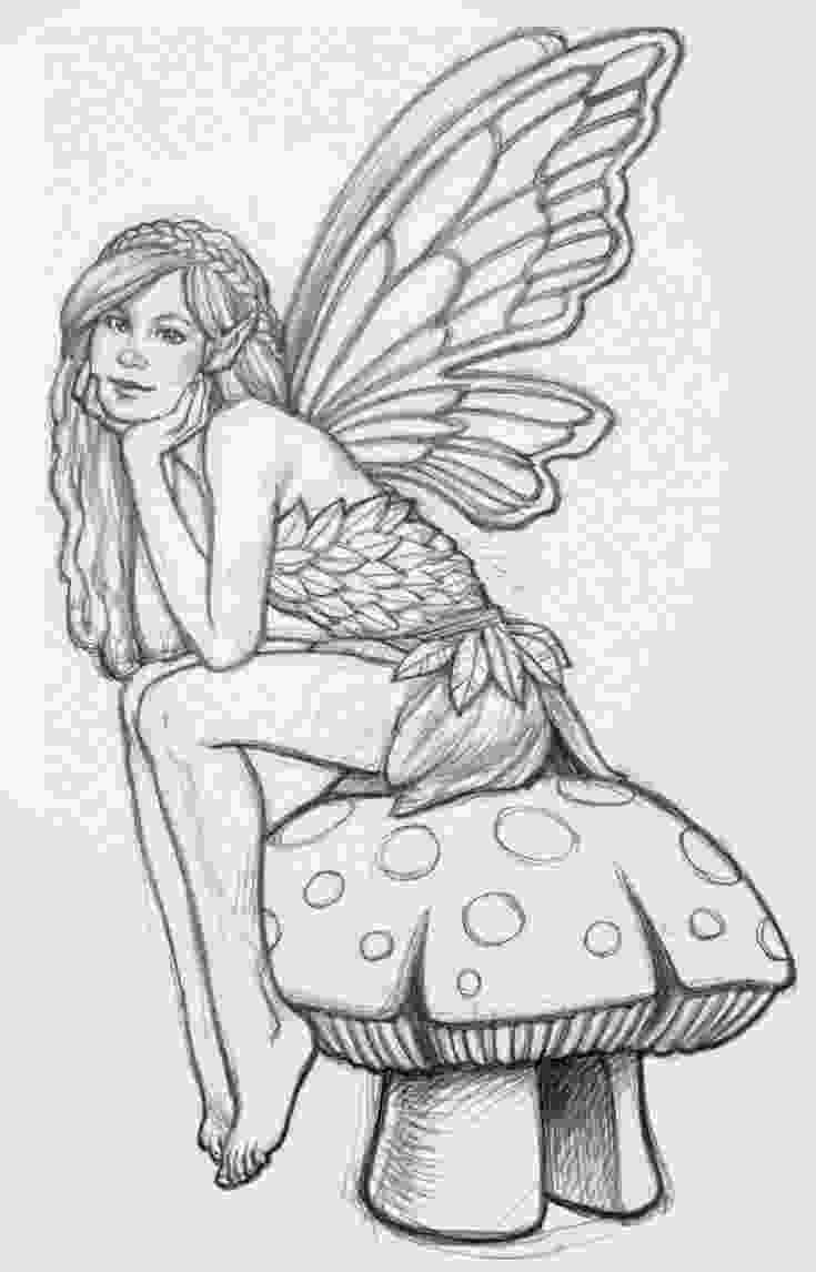 difficult fairy coloring pages coloring pages fairies free printable coloring pages free