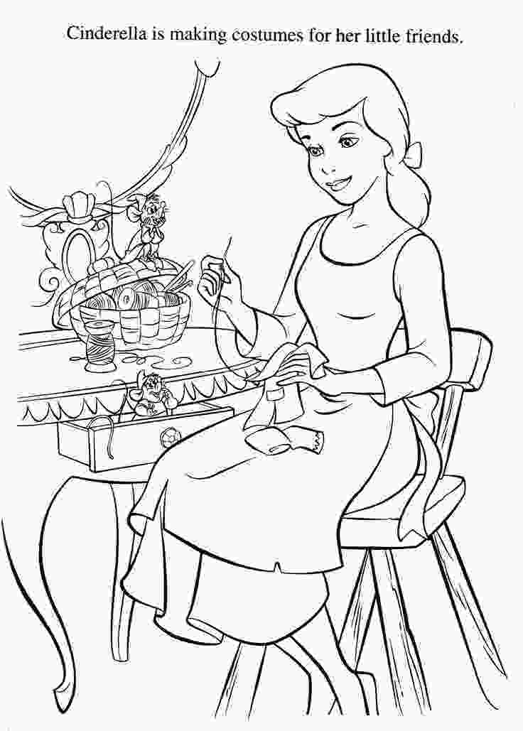 disney coloring sheets cinderella coloring pages disney coloring pages