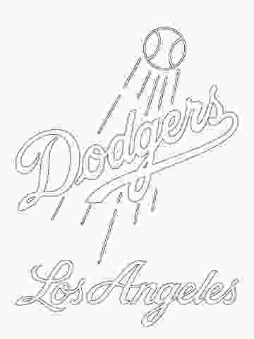 dodgers baseball coloring pages click to see printable version of los angeles dodgers logo