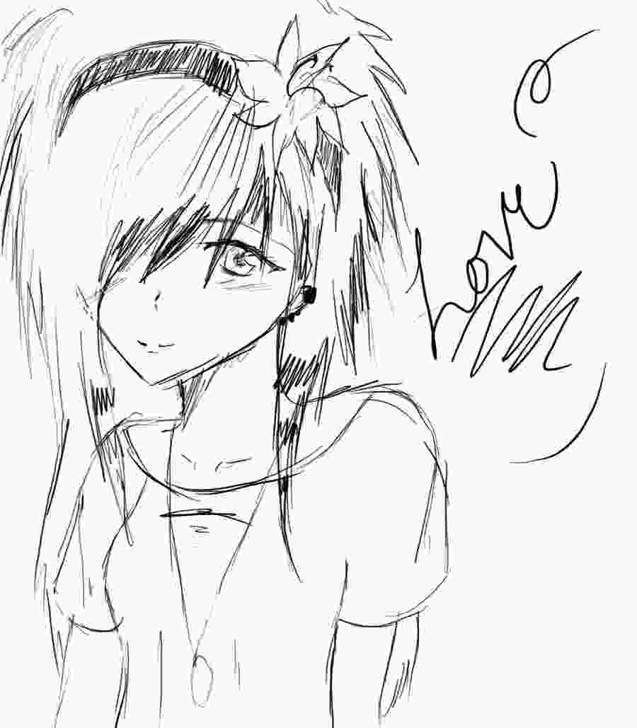 easy anime drawings july 2013 latest comics episode