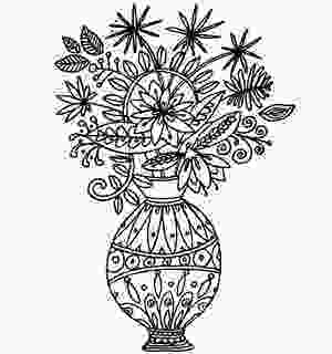 flowers in vase coloring pages amazingly exquisite free printable coloring pages of flowers