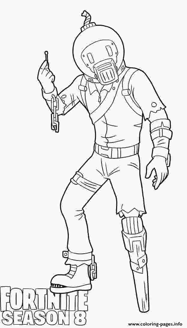 fortnite season 8 coloring pages splode skin from fortnite season 8 coloring pages printable