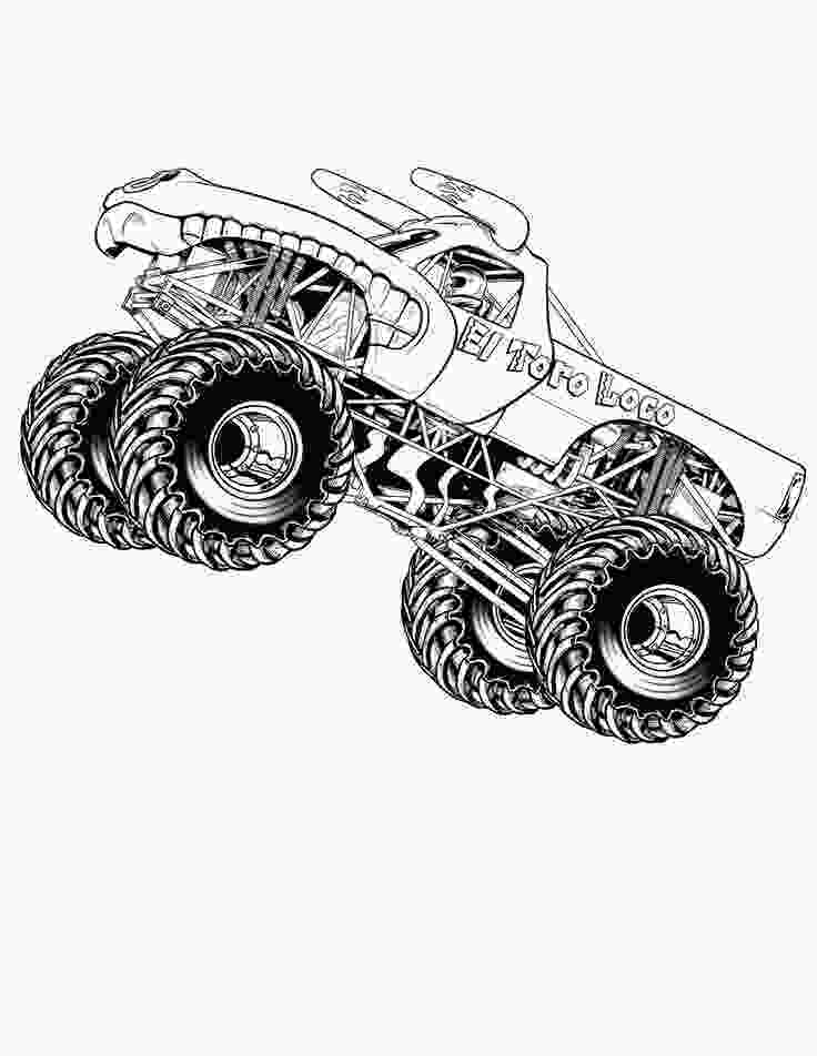 free monster truck coloring pages to print 21 best images about coloring pages on pinterest trucks