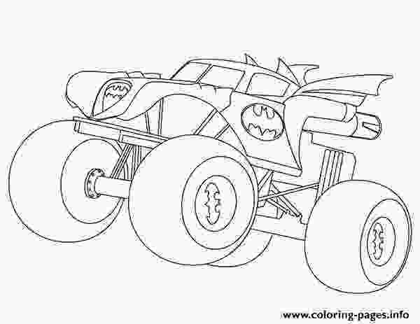 free monster truck coloring pages to print batman monster truck coloring pages printable