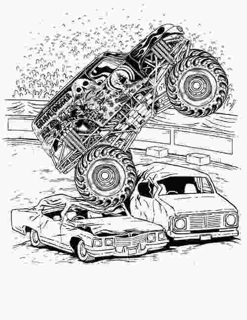 free monster truck coloring pages to print monster truck coloring pages for boys