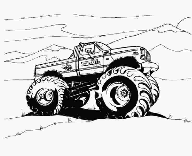 free monster truck coloring pages to print monster trucks coloring pages kid projects pinterest