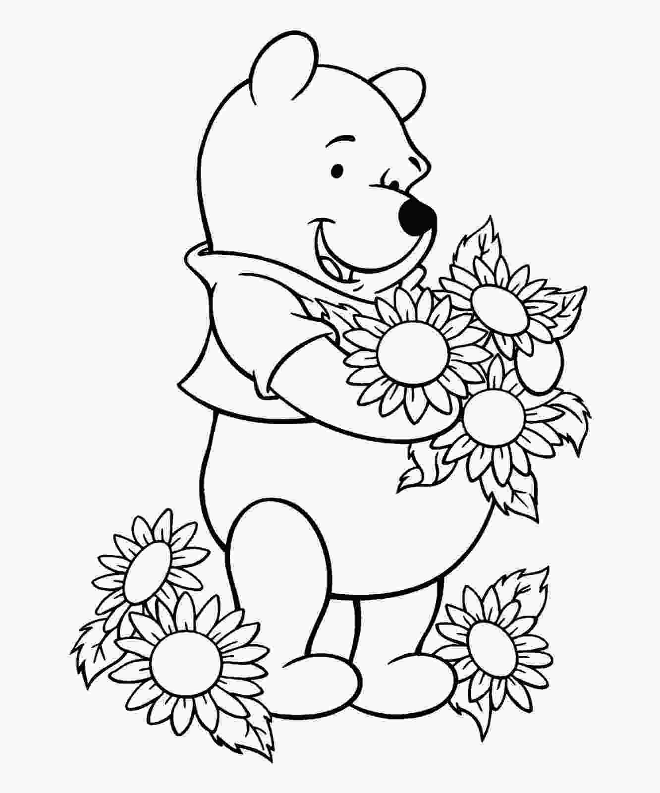 free winnie the pooh coloring pages winnie the pooh coloring sheets free coloring sheet