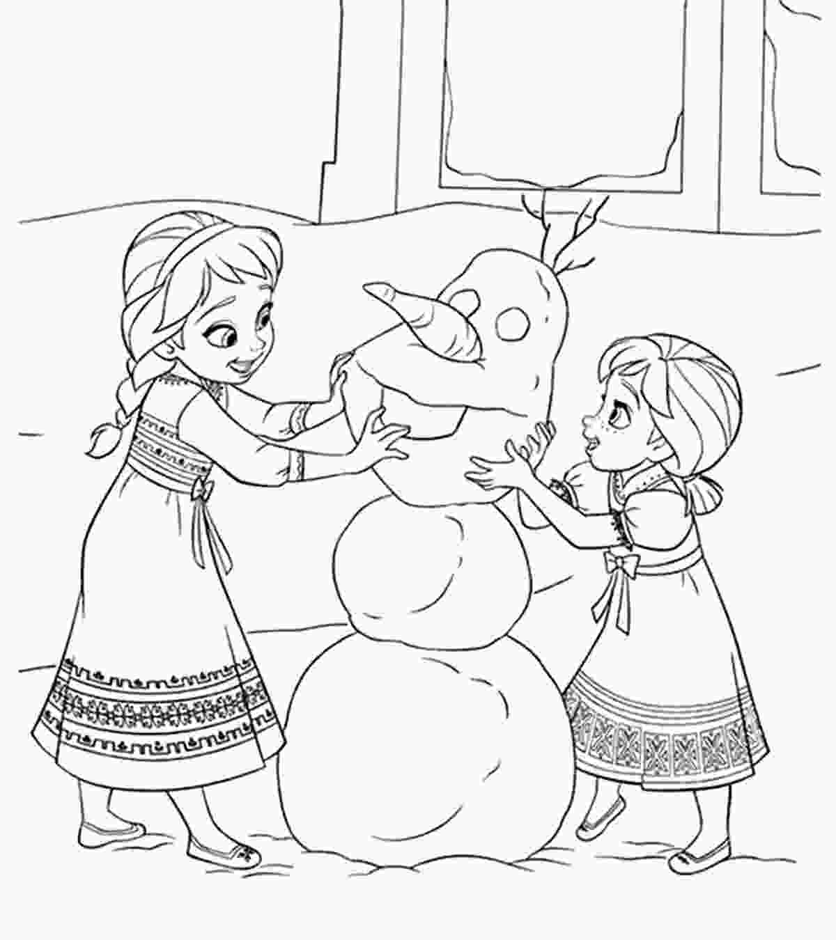 frozen 2 coloring sheets disney coloring pages momjunction