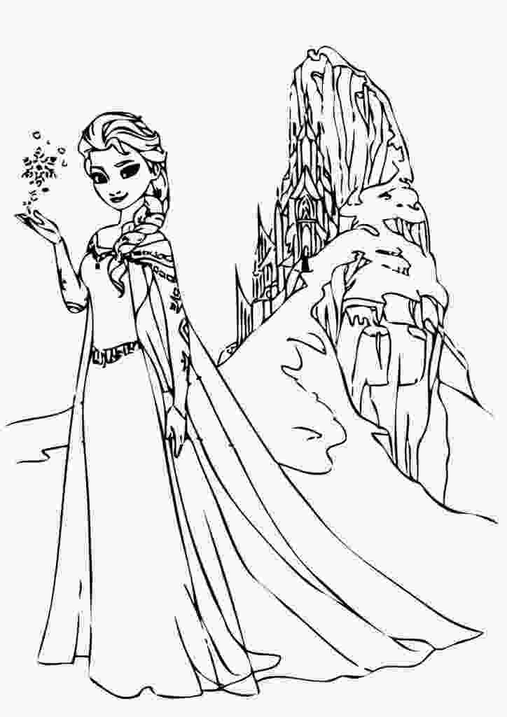 frozen 2 coloring sheets free printable elsa coloring pages for kids best