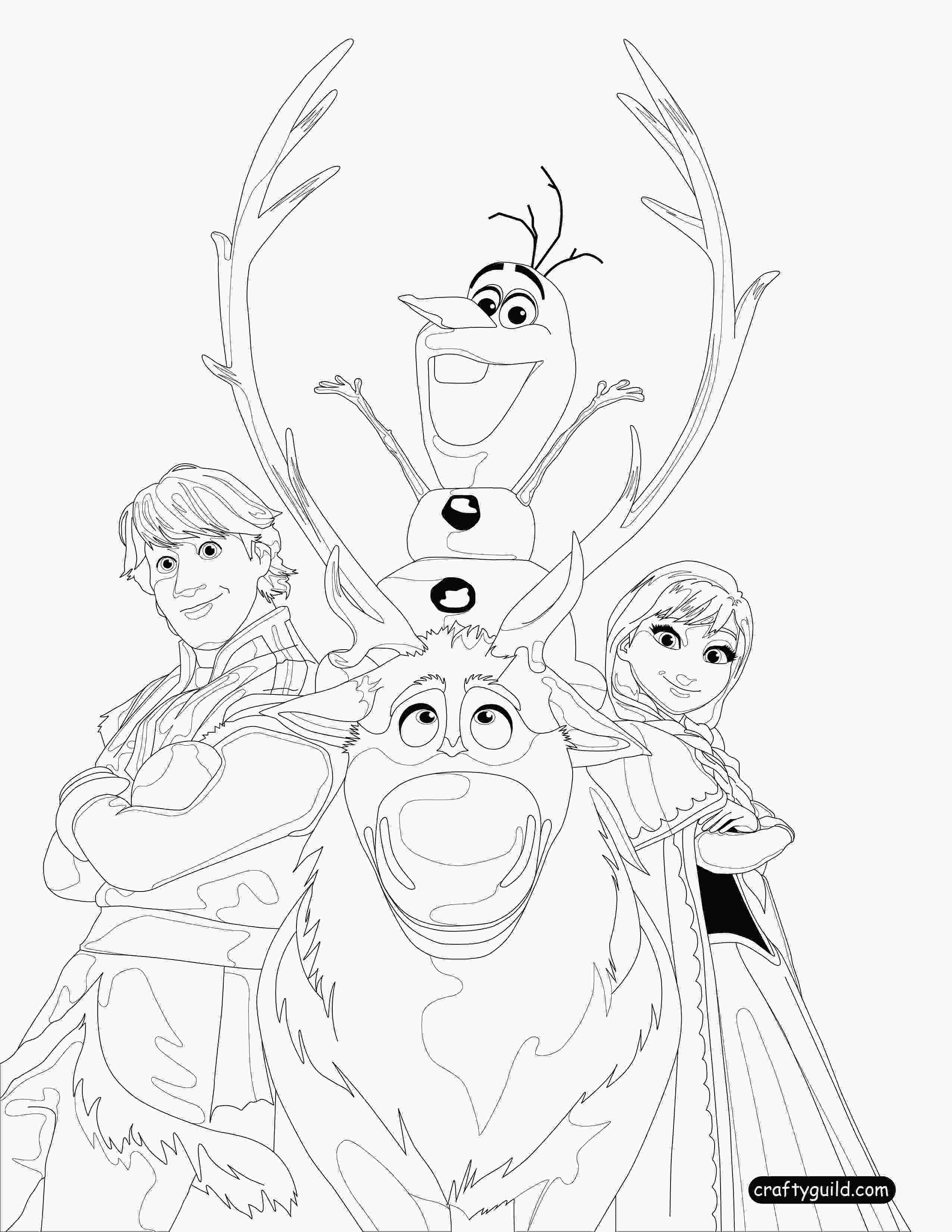 frozen 2 coloring sheets frozen coloring pages on crafty guild