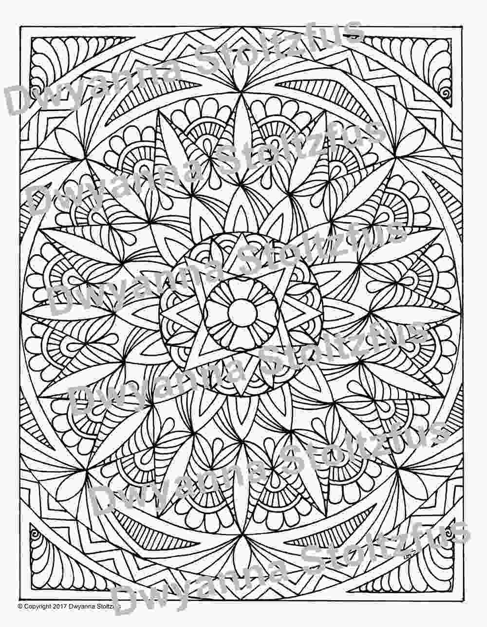 full page coloring pages full page mandala 1 coloring page jpg