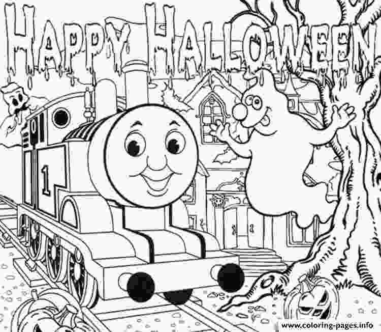 full page coloring pages halloween full page thomas the train sac35 coloring pages