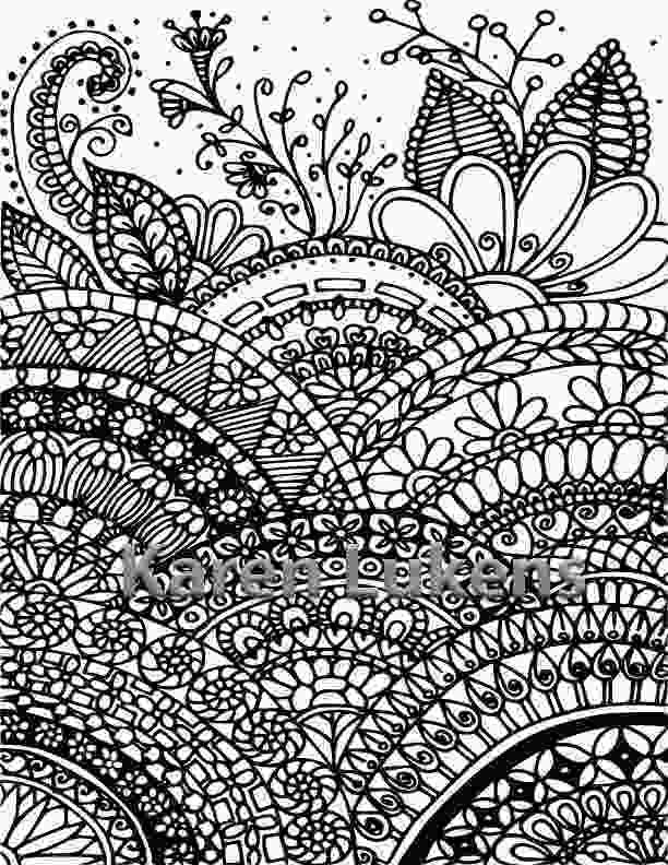 full page coloring pages where mandalas grow 1 adult coloring book page printable
