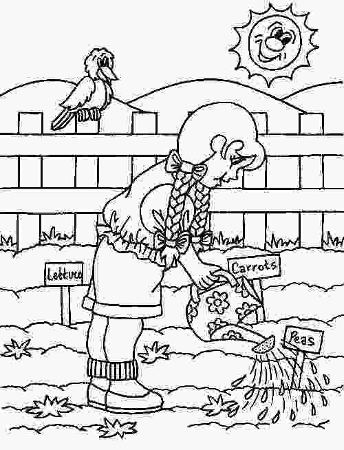 garden coloring sheets 17 best images about coloring pages on pinterest gardens