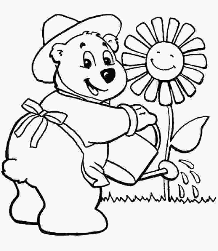 garden coloring sheets 17 best images about gardening coloring pages on pinterest