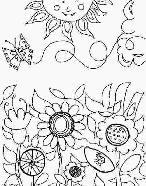 garden coloring sheets 40 best images about coloring pages on pinterest gardens