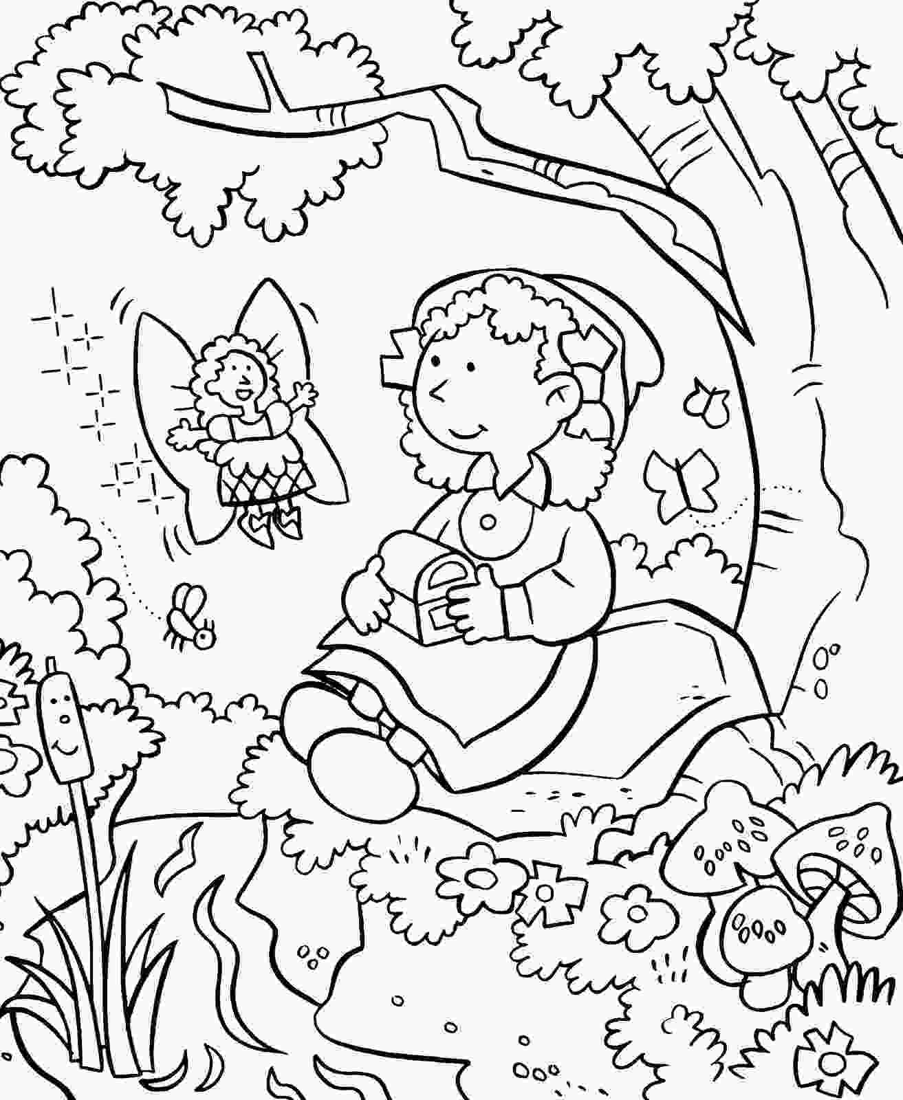 garden coloring sheets my little house anna and the flower garden coloring pages