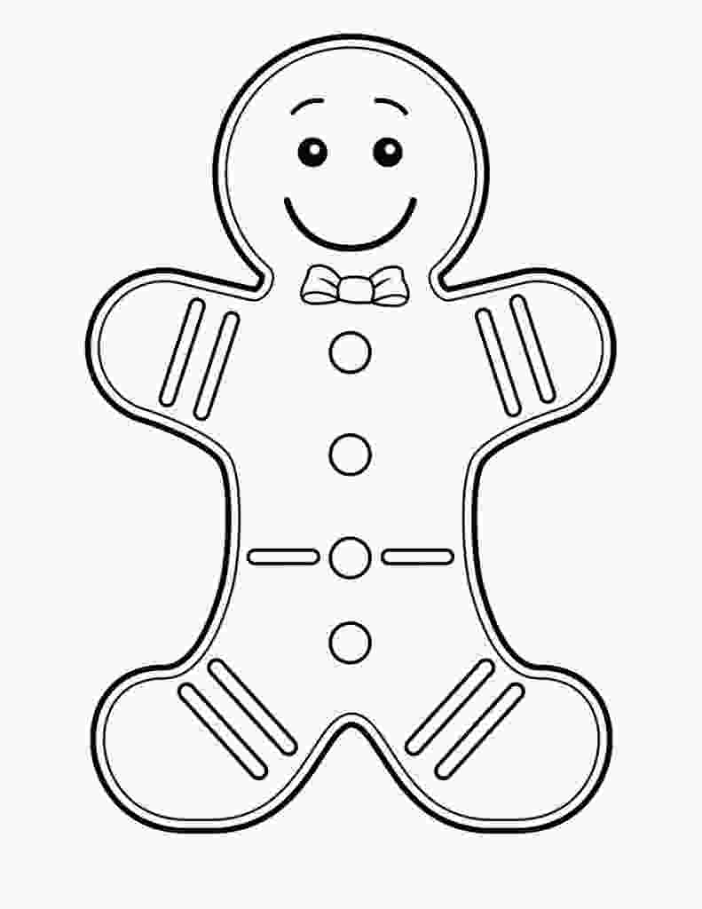 gingerbread man printable free printable gingerbread man coloring pages for kids