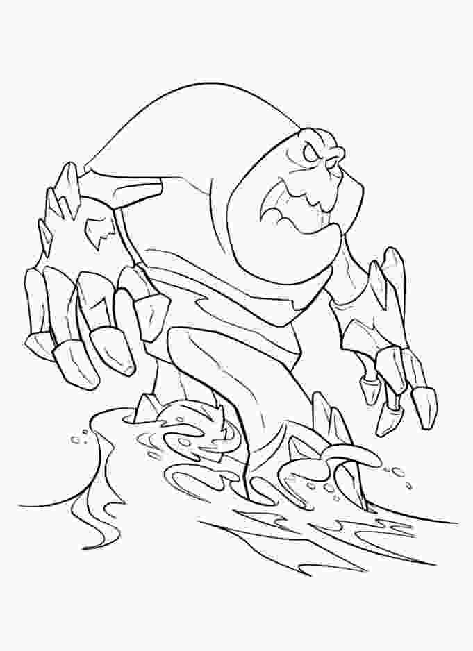 ice queen coloring pages frozen monster coloring pages coloring frozen the snow