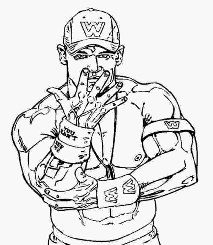john cena coloring page wwe coloring pages rey mysterio gianfredanet