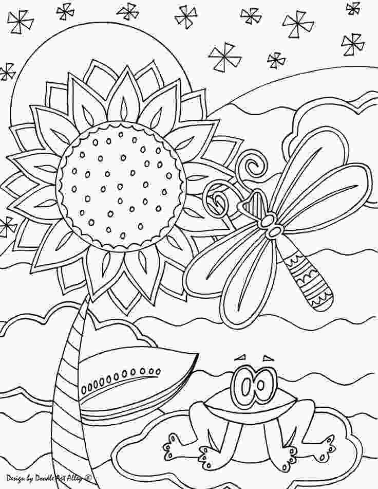 kids art coloring pages 17 best images about color pages on pinterest quilt