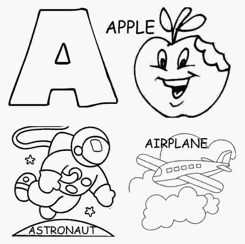 kindergarten alphabet coloring pages letter a coloring pages preschool and kindergarten 1