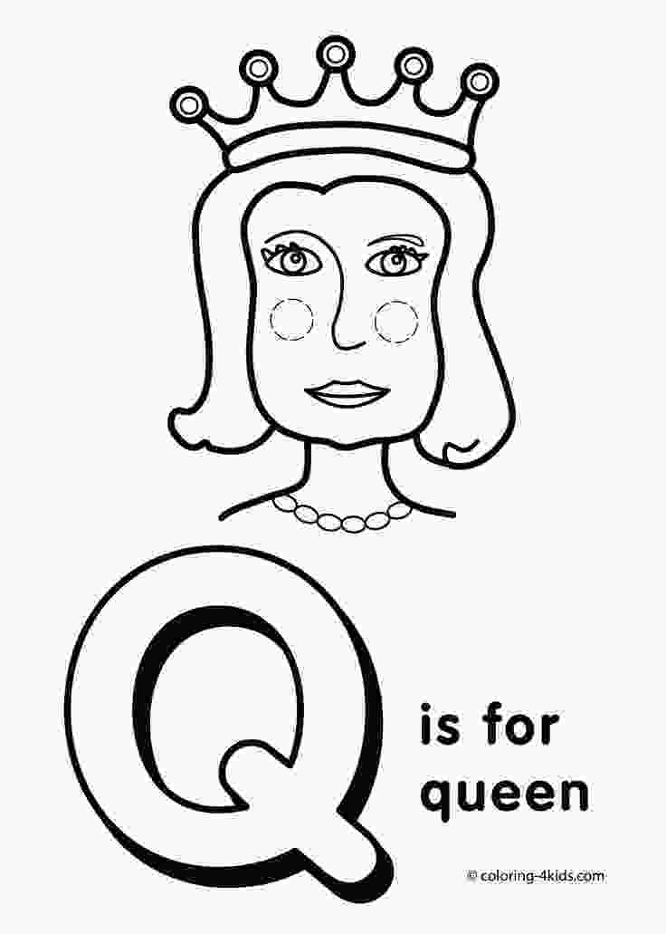 kindergarten alphabet coloring pages letter q coloring pages alphabet coloring pages q letter