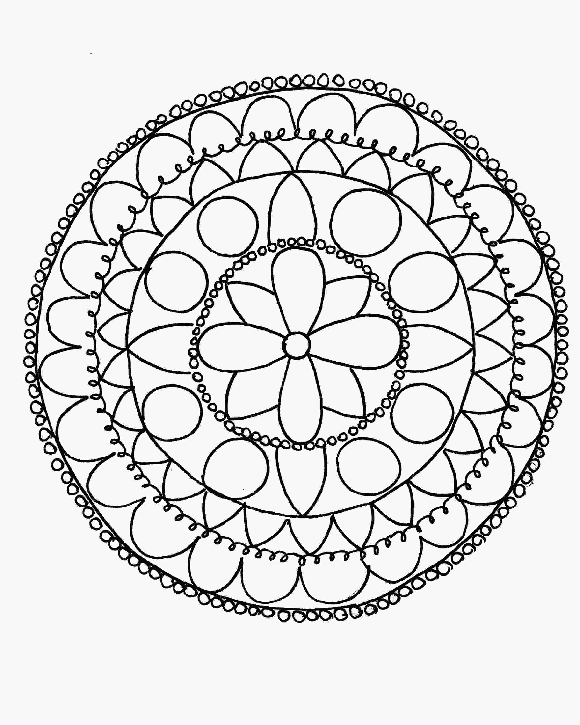 mandala patterns to color how to draw a mandala with free coloring pages