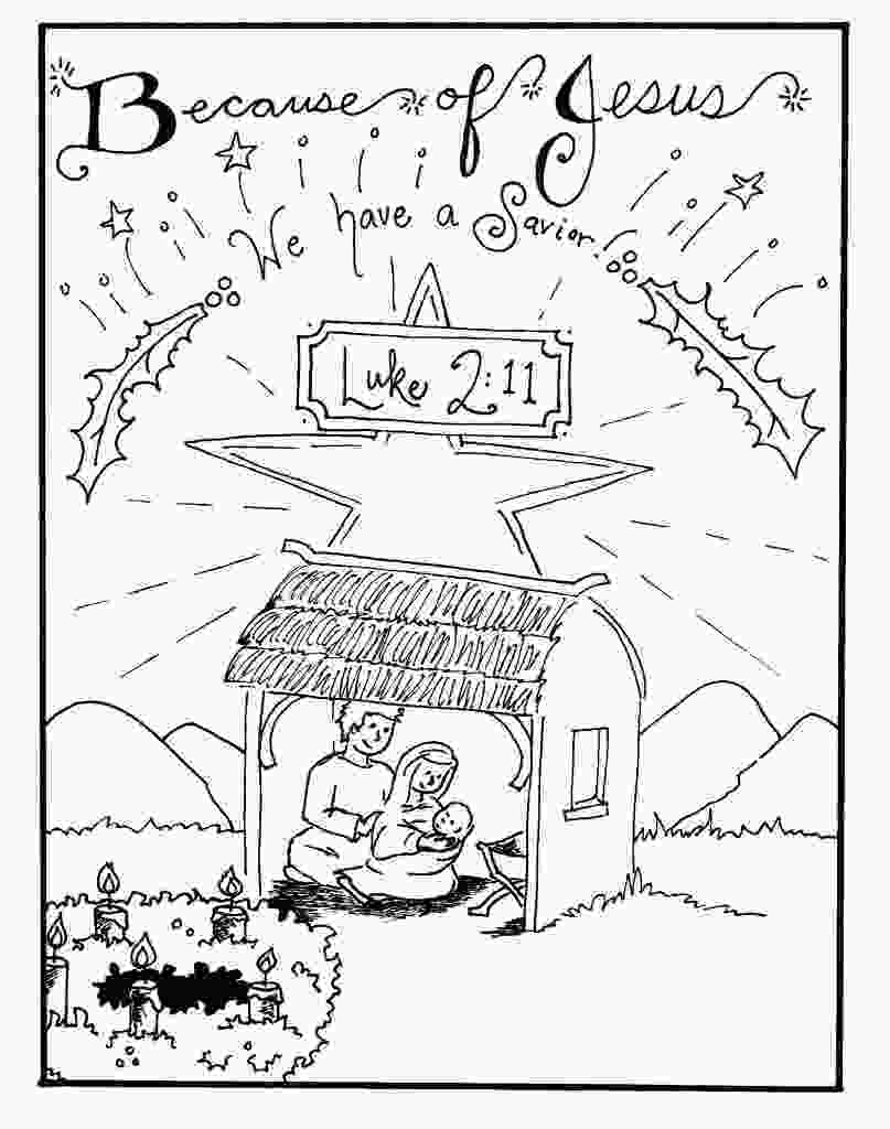 manger scene coloring page free printable nativity coloring pages for kids best 2