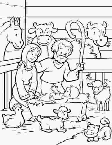 manger scene coloring page free printable nativity coloring pages for kids best 3