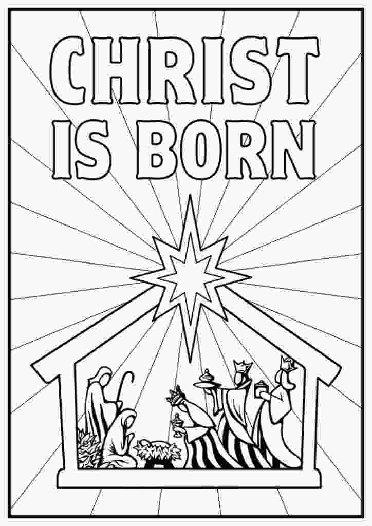 manger scene coloring page free printable nativity coloring pages for kids best