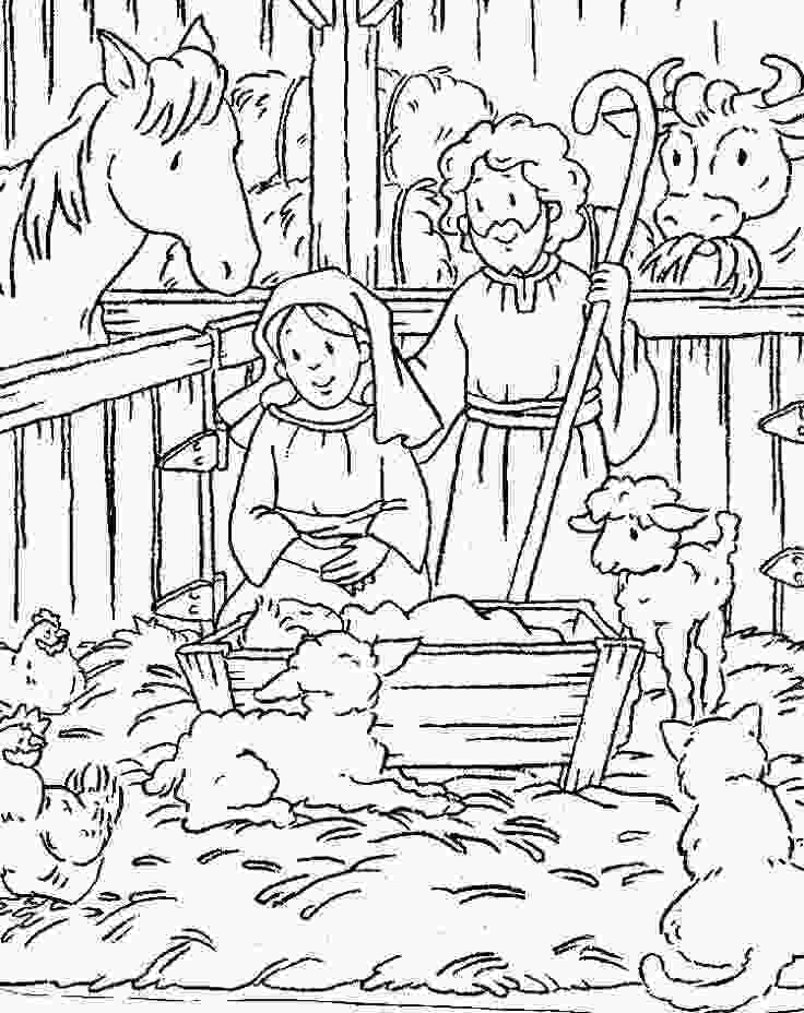 manger scene coloring page free printable nativity scene coloring pages nativity