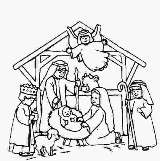 manger scene coloring page nativity scene coloring page sunday school craft and