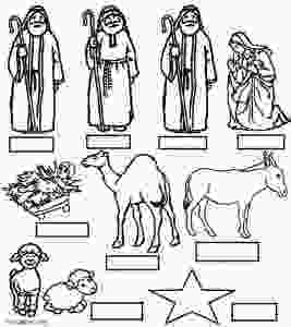 manger scene coloring page printable nativity scene coloring pages for kids cool2bkids 2