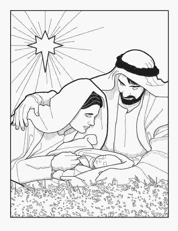 manger scene coloring page xmas coloring pages
