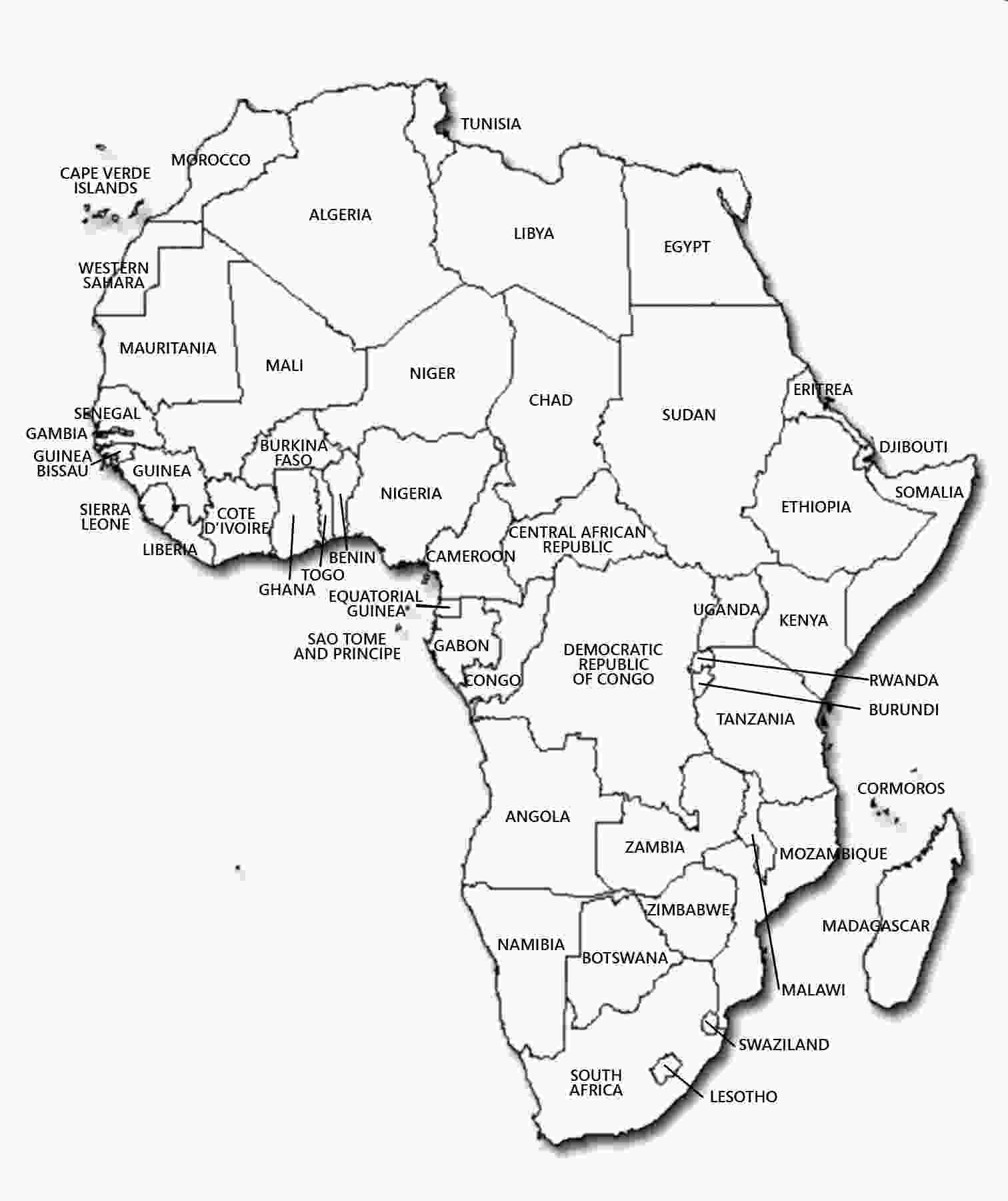 map of africa coloring page map coloring pages coloringsuitecom